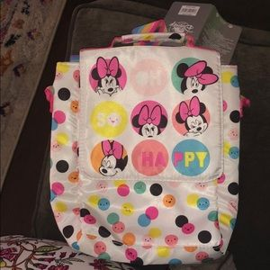 Disney store Minnie lunch tote BNWT